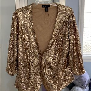 Sequined jacket - INC Brand 2X